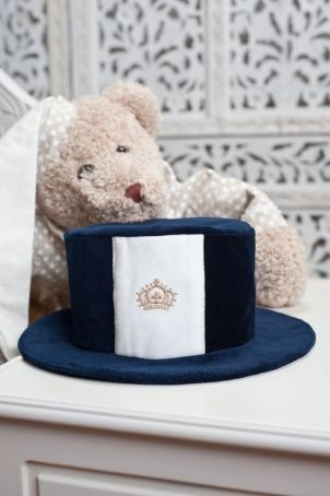 """Cute topper for baby boys and toddlers, matching the """"O'Malley"""" outfit."""