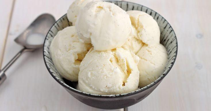 Ελαφρύ παγωτό με λίγες θερμίδες μόνο με γάλα!