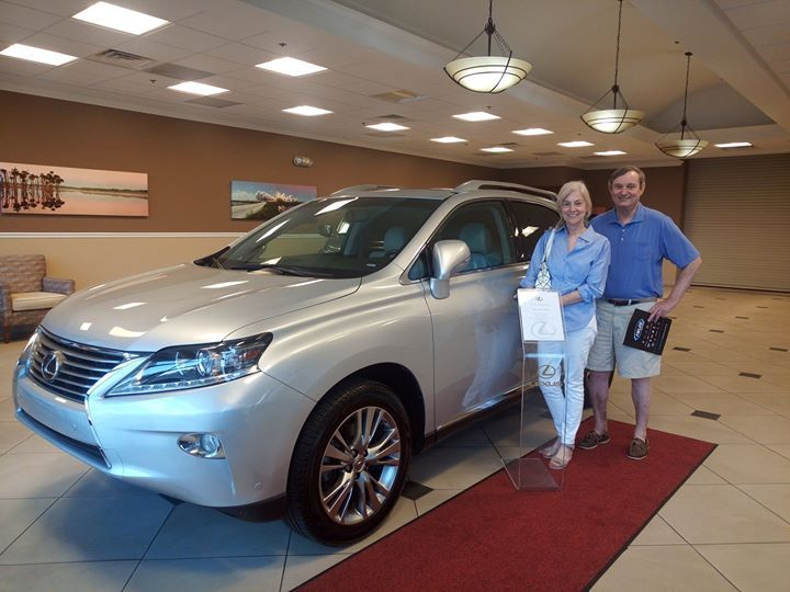 Congratulations to Harry & Mary W. on their  2014 #Lexus #RX350 from Lexus of #OrangePark which they purchased with our Team Member Mohammad! Thanks for being part of the Fields Auto Group family. #Lexus