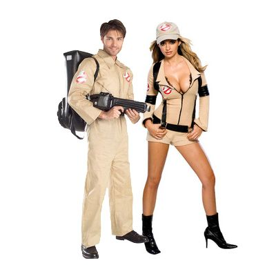 Sexy Ghostbusters costume includes hat jumpsuit belt and backpack - For size small and medium we recommend that you buy this product only if you are