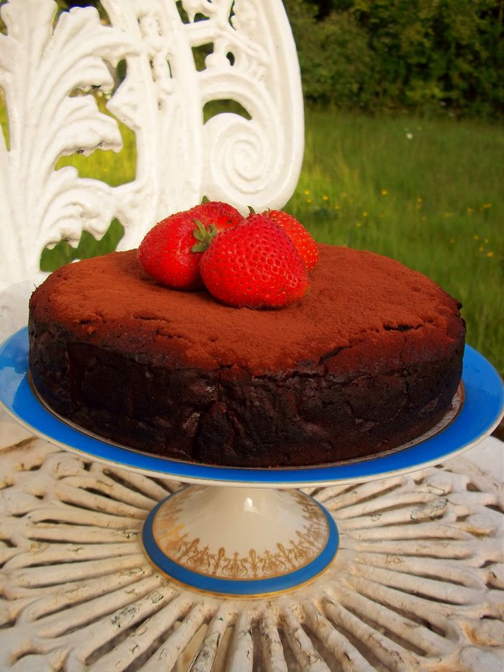 Idle Bakes: Harry Eastwood's Dairy & Gluten Free Chocolate Heartache Cake. with eggplant!