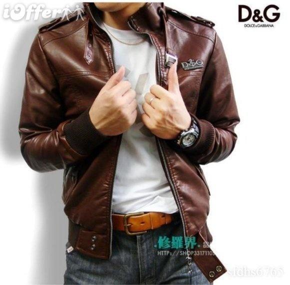 Dolce Gabanna Leather Jacket