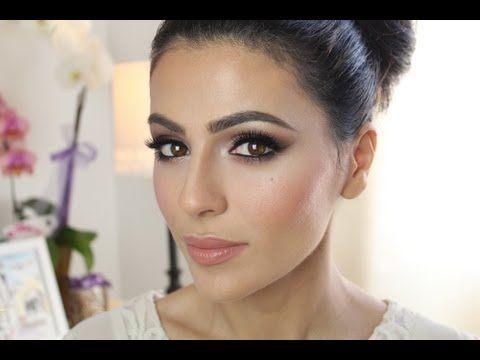 Great makeup tutorial for wedding day makeup.