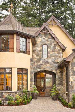 Exterior design shutters and design on pinterest for Rivendell cottage house plans