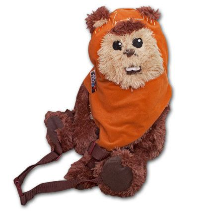 Star Wars Ewok Wicket Bag Brown