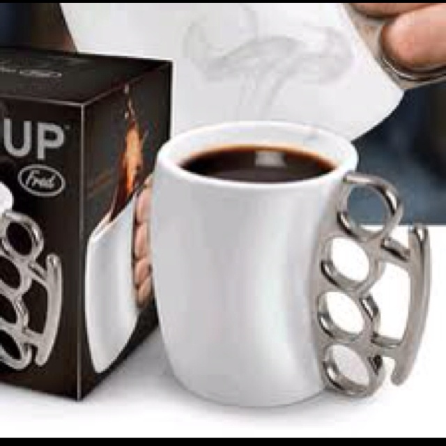 Fisticup Brass Knuckles Coffee Mug @ Sirtified   Cool Stuff Just for Guys 300 × 300 - 48KBkaboodle.com
