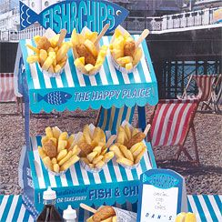 Fish & Chip Stand | Asda Party