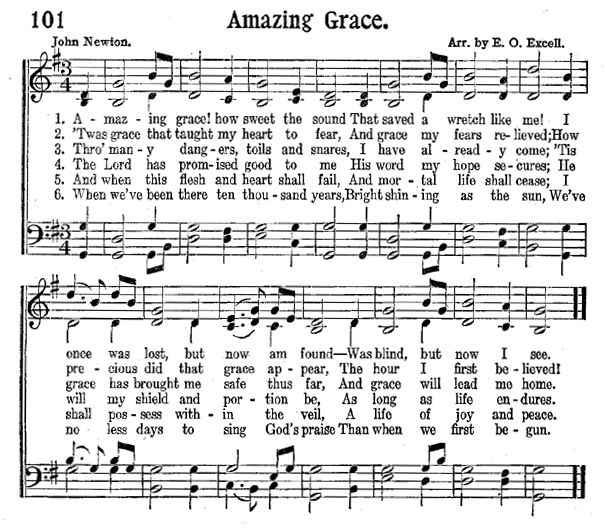 25+ Best Ideas About Amazing Grace Sheet Music On