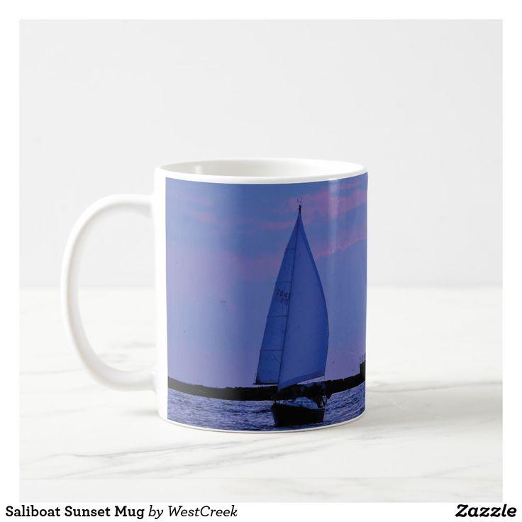 Saliboat Sunset Mug
