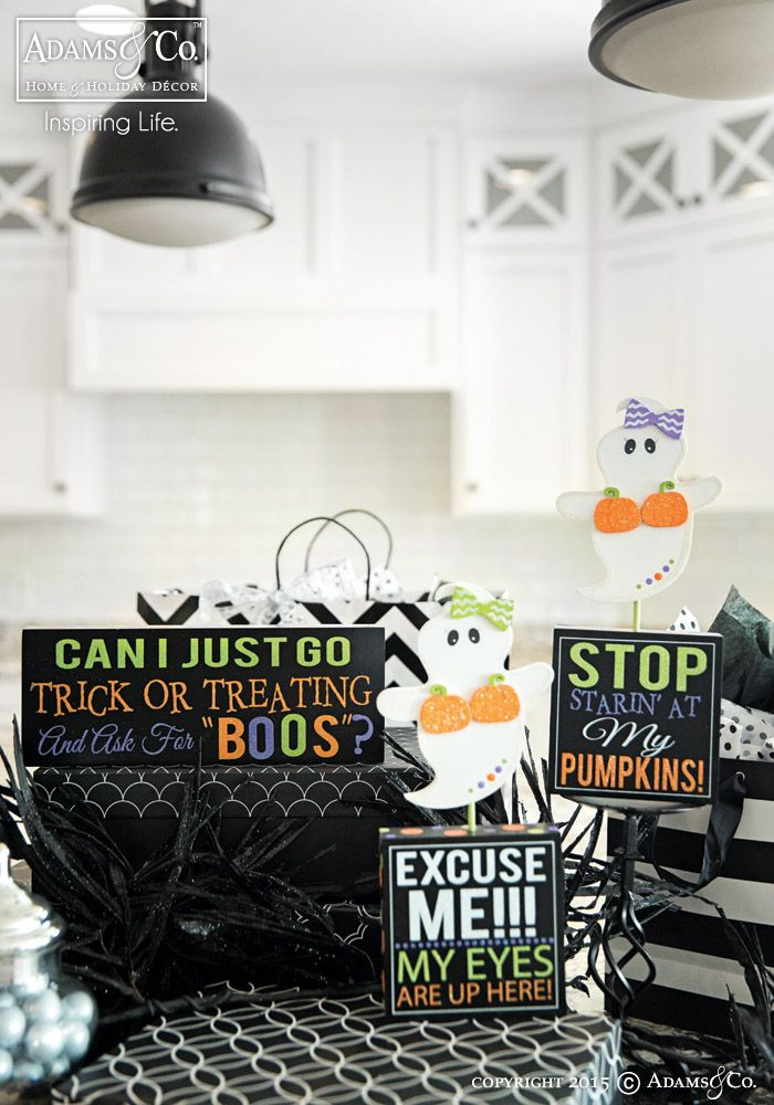 The 161 best Halloween Decor images on Pinterest   Happy halloween     Ghostess with the Mostest Collection   Halloween decorations  ghost  pumpkin