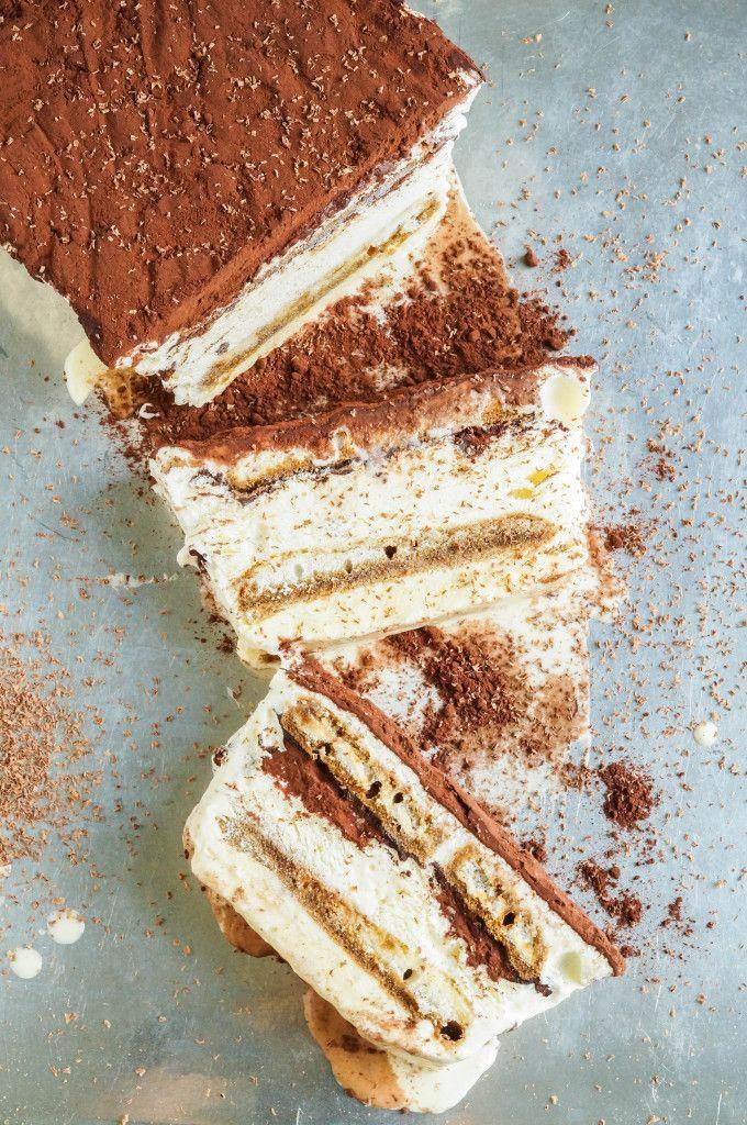 Tiramisu Semifreddo #chocolate #tiramisu #dessert