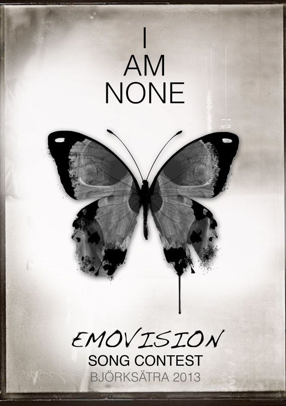 I AM NONE   Emovision song contest   Eurovision song contest  WE ARE ONE