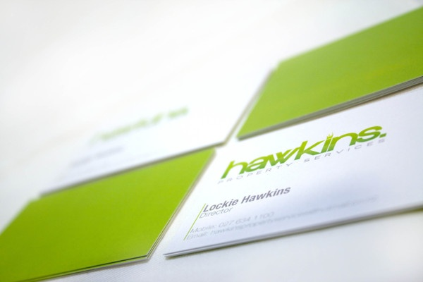 Hawkins Property Services Identity by Chelsea Roper, via Behance