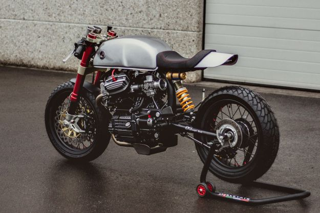 Sacha Lakic's CX500 - Who'd have thought that the humble Honda CX500 would one day join the CB750 and SR500 as a staple of custom builders? The poor man's Guzzi—once loved only by despatch riders—has fast become the sweetheart of the custom world.
