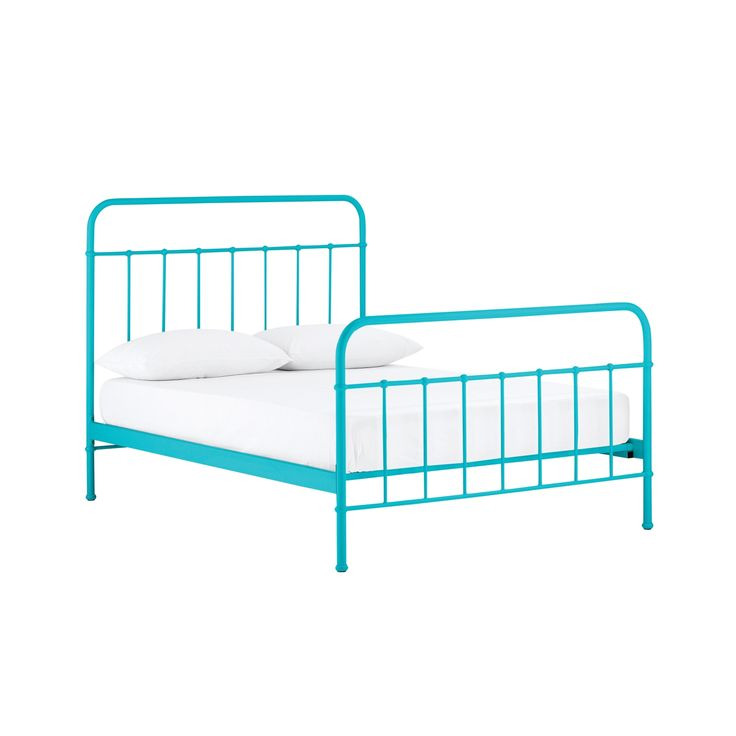 Sunday Teal Blue Bed Frame from Domayne Online