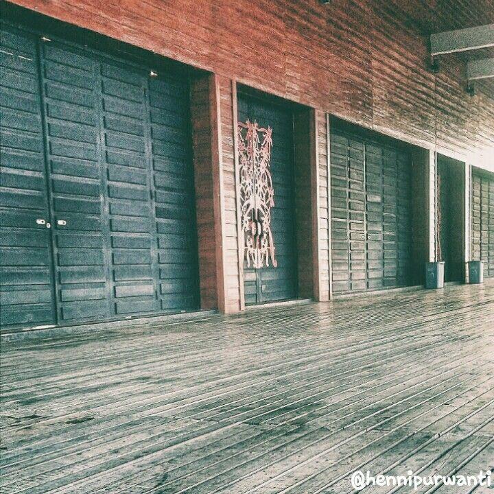 'Rumah Radank' - (Long House) Dayaknese Traditional House