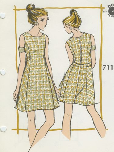 Dot Pattern System Deluxe: Cocktail Dress