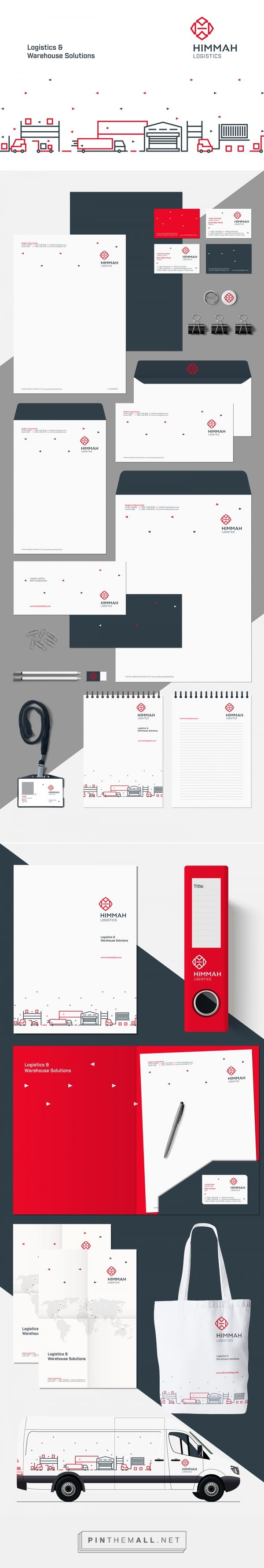 Himmah Logistics Branding on Behance | Fivestar Branding – Design and Branding Agency & Inspiration Gallery