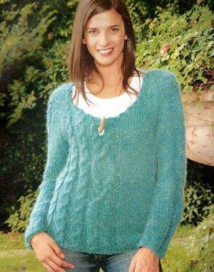 iKnitts: Paso a paso para tejer un sweater asimétrico