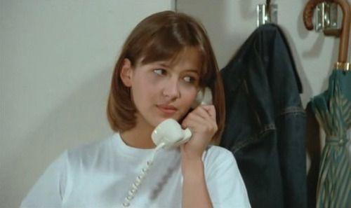 sophie marceau, la boum, téléphone