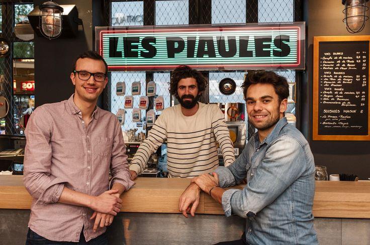 """Les Piaules, cet """"hostel""""lancé par trois jeunes copains parisiens vient d'ouvrir dans le quartier de Belleville. Visite."""
