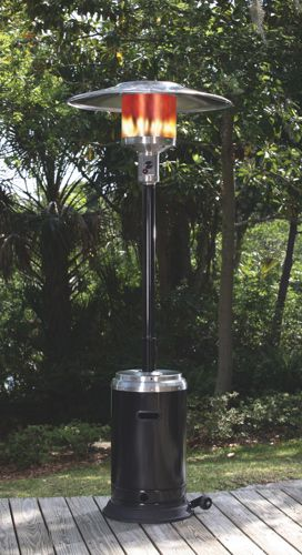 The Stainless steel Propane Patio Heater by Paramount.