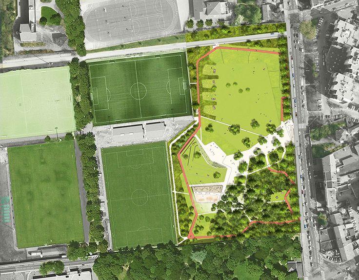 Unique Contemporary Landscape Architecture Plan This Smallerscale