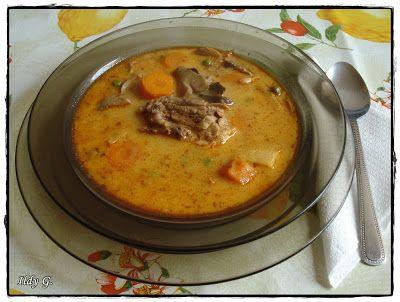 Ildy G. - gasztro és kreatív blogja: Tejszínes csirkeragu leves