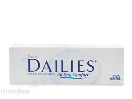 Focus Dailies All Day Comfort: Erstklassige Tageslinsen im Mister Linse Kontaktlinsenshop