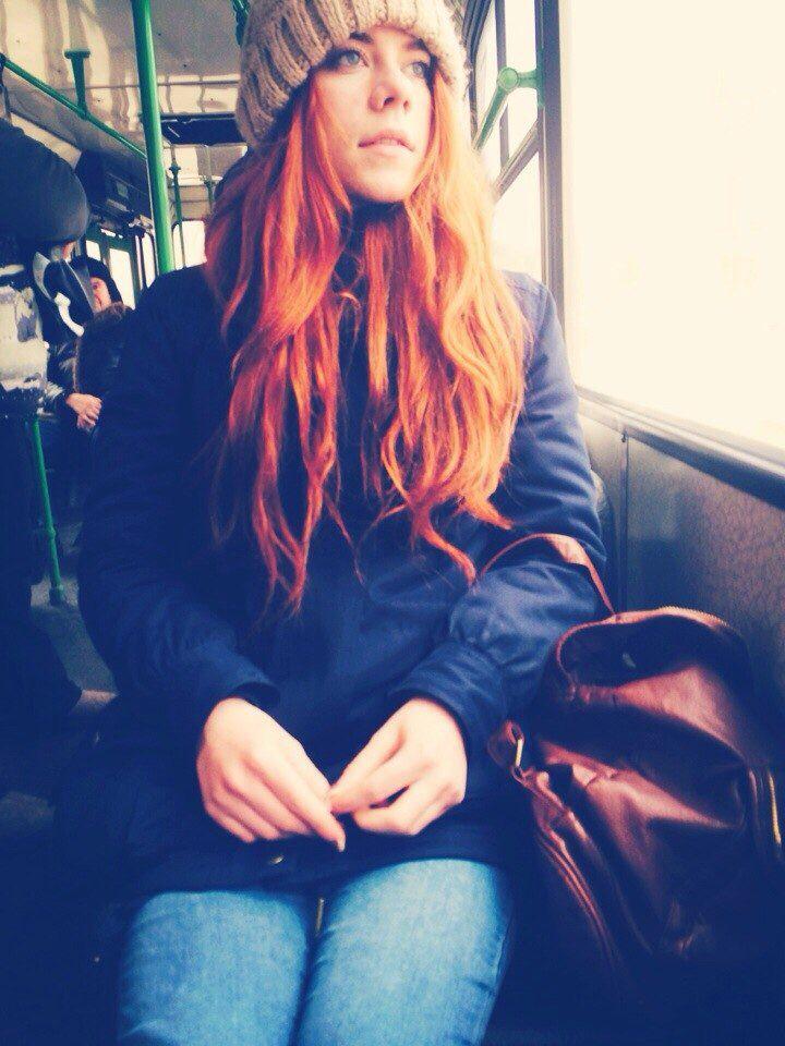 Эти рыжие рыжие волосы