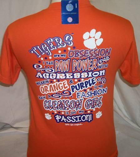 Clemson T Shirt Clemson Obsession