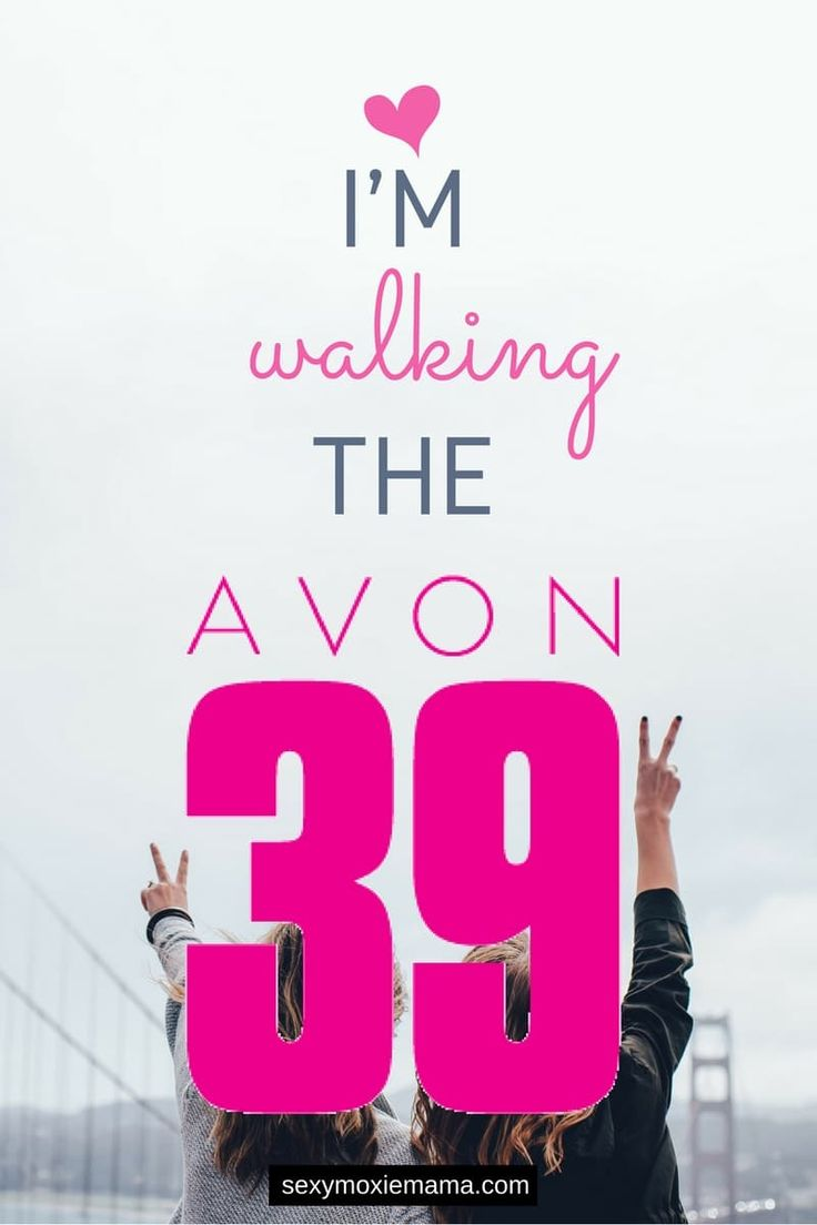 I'm walking the avon 39. Find out why. Donate now #powerof39 #fierceisforever