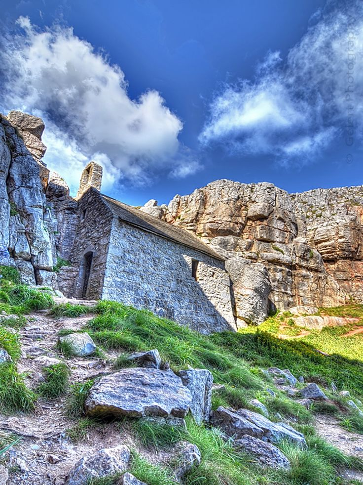 St Govan's Chapel, West Wales ~ A Photographer's Eye ~ by Hiraeth Crafts on Etsy . . https://www.etsy.com/uk/shop/HiraethCraftsWales