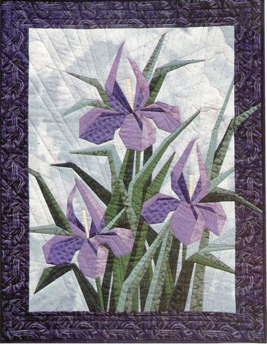 Iris Garden 2, Eileen Sullivan Pattern