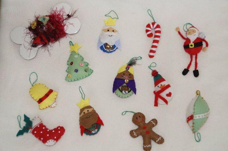 40 best navidad images on pinterest christmas crafts - Como hacer adornos navidenos ...