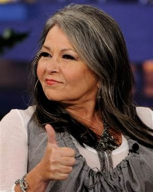 Roseanne Barr ... An American TV Original.  Says it like it is, and dammed the consequences!.