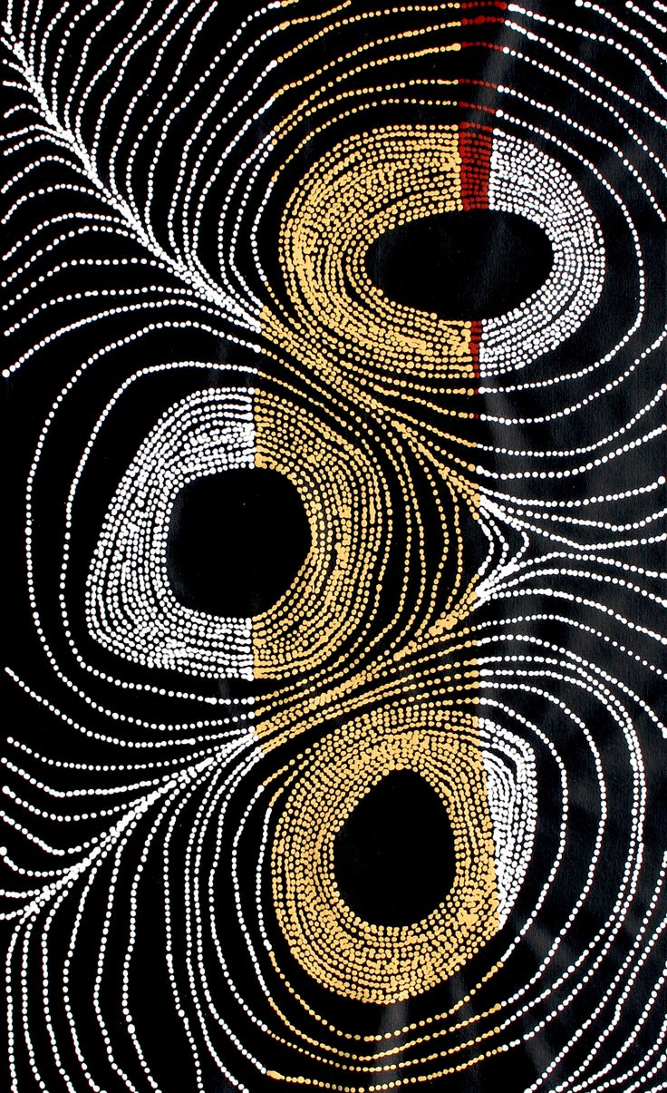 Aboriginal Artwork by Tammy Matthews Sold through Coolabah Art on eBay