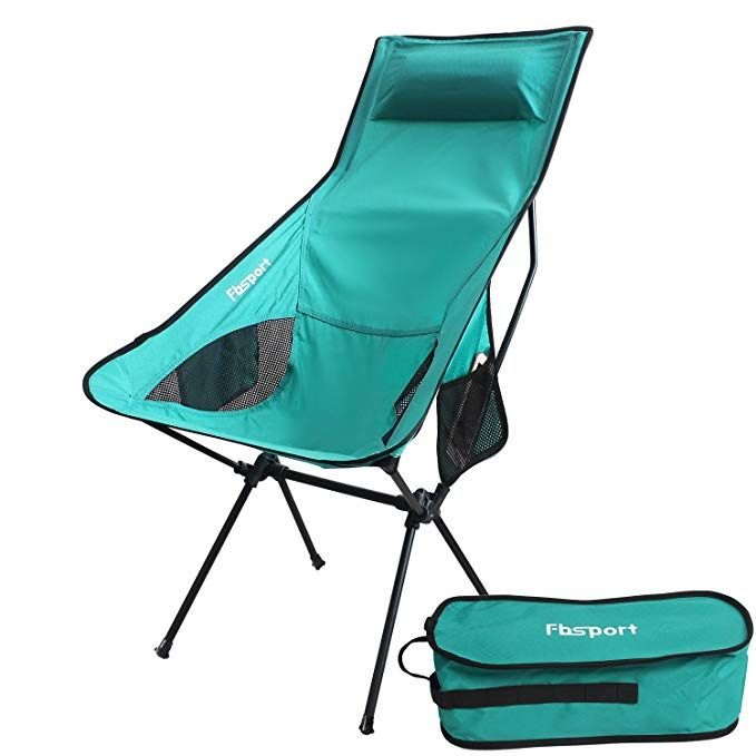 Fbsport Lightweight Folding Camping Backpack Chair Compact