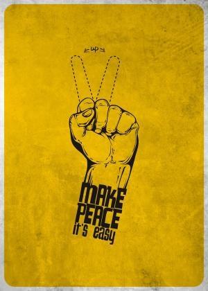 Make peace it's easy!!  Alejandro Ayala  United States #