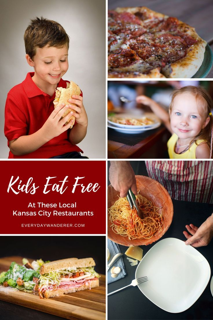 5 Local Restaurants Where Kids Eat Free In Kansas City In 2020 Kids Eat Free Kids Eat Free Restaurants Eat Free