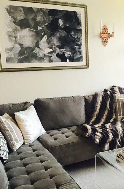 Living room inspo via officestylist showcases our modern for Living room inspo
