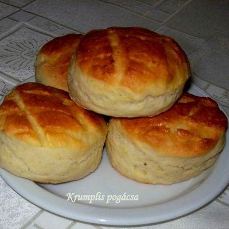 Pehelykönnyű krumplis pogácsa