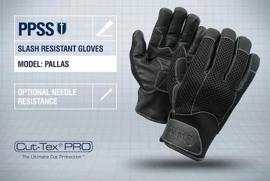 PPSS #SlashResistantGloves (Pallas) with optional #needleresistance