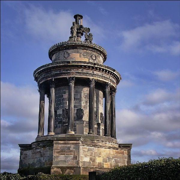 Monument Robert Burns, Edimbourg, Ecosse