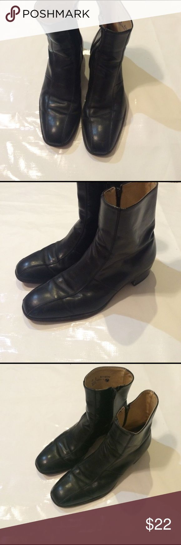 Men's ankle boots Leather men's ankle boots size 10 Shoes Boots