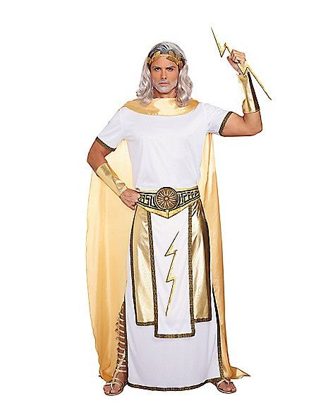 Adult Zeus Costume - Spirithalloween.com