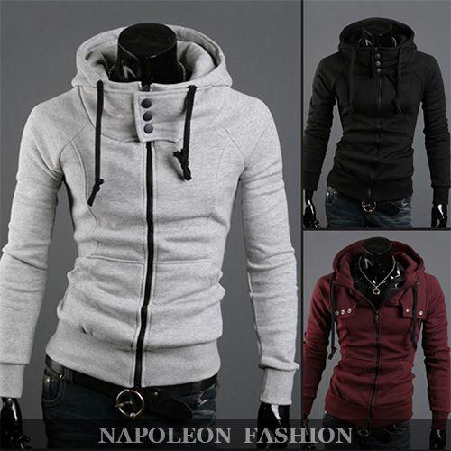 Freeshipping,Fashion High Collar Brand Men's Sweatshirts,Casual Sports Design Men's Hoodies Male,Dropshipping,PLUS Size M-3XL4XL