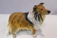 Hondenbeeldje Schotse collie