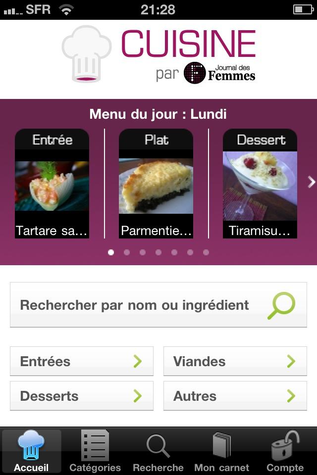 Cuisine Par Journal Des Femmes