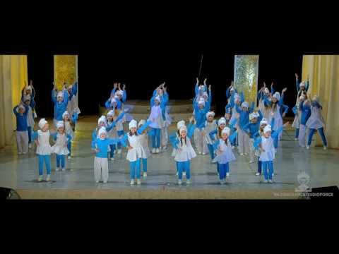 Студия танца ФОРС -СМУРФИКИ 4-7 ЛЕТ - YouTube